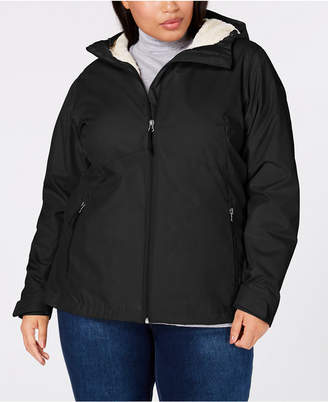 e3a70ce958d Columbia Plus Size Rainie Falls Waterproof Fleece-Lined Jacket