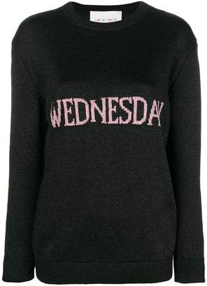 Alberta Ferretti Wednesday knit jumper