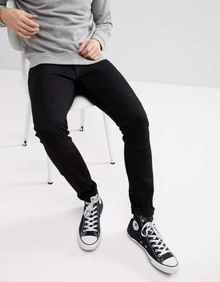 Wrangler Bryson Skinny Jeans Black