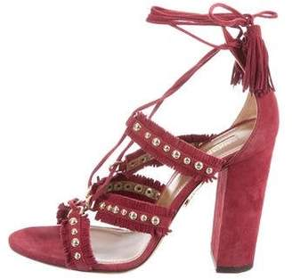 Aquazzura Firenza 105 Sandals