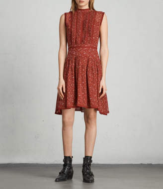 AllSaints Myra Pepper Dress