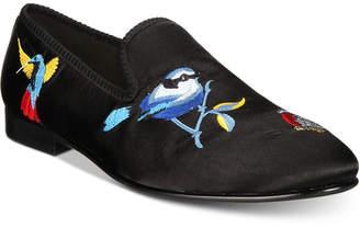 Tallia Men's Enrico Bird Satin Smoking Slippers Men's Shoes
