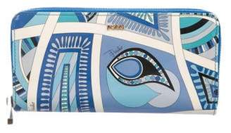 Emilio Pucci Abstract Continental Wallet