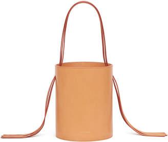 Mansur Gavriel Vegetable-Tanned Fringe Bucket Bag