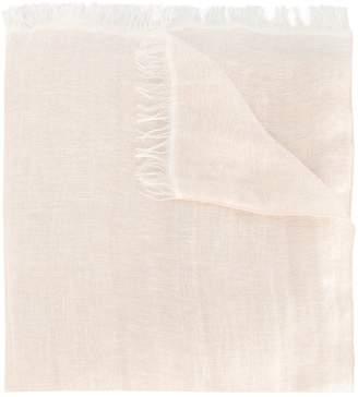 Fabiana Filippi frayed edges scarf
