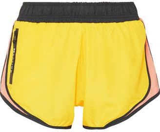 P.E Nation Sprint Vision Color-block Shell Shorts