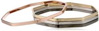 Chamak by Priya Kakkar Dainty Angular Octagonal Set of 4 Cuff Bracelet