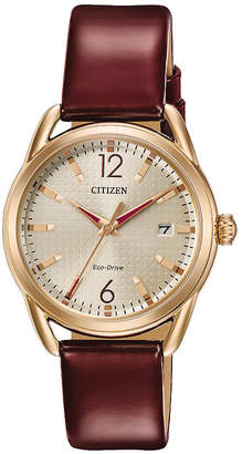 DRIVE FROM CITIZEN ECO-DRIVE Drive from Citizen Red Strap Watch-Fe6083-05p