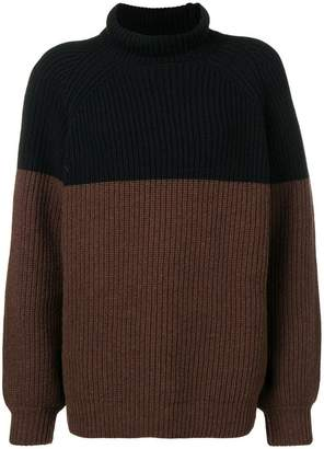 Rochas knitted turtleneck sweater