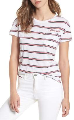 Tommy Jeans TJW Embroidered Pocket Tee
