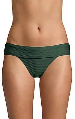 Heidi Klein Women's Po Fold-Over Bikini Bottom