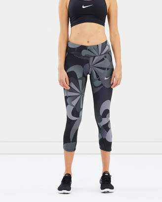 Nike Epic Luxe Printed Cropped Tights