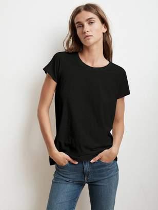 Graham & Spencer Velvet By Velvet by Tressa T Shirt In Black - XS