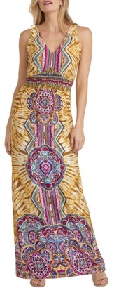 Women's Eci Print Maxi Dress $98 thestylecure.com