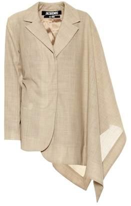 Jacquemus La Veste Bibi wool jacket