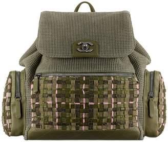 Chanel Tweed backpack