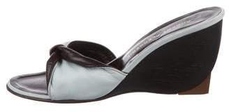 Robert Clergerie Wedge Slide Sandals
