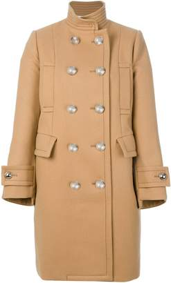 Sacai double breasted pea coat