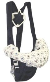 Luvable Friends Deluxe Soft Baby Carrier - Navy