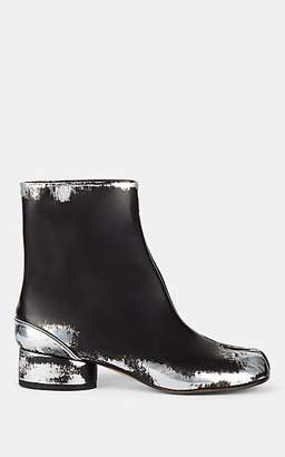 Maison Margiela Women's Tabi Leather Boots - Black