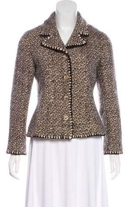 Chanel Tweed Wool Blazer