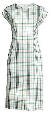 dd8e665b006c BOSS Women s Daela Stretch Cotton Sheath Dress - Size 0
