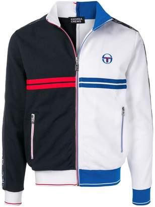 Sergio Tacchini two-tone zipped jacket