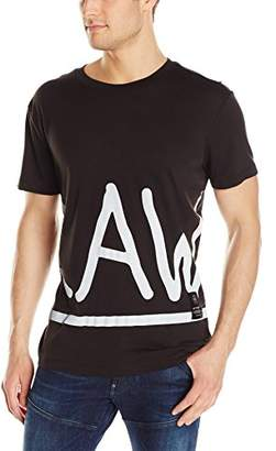 G Star Men's Manes Zoomed Short Sleeve Jersey Shirt