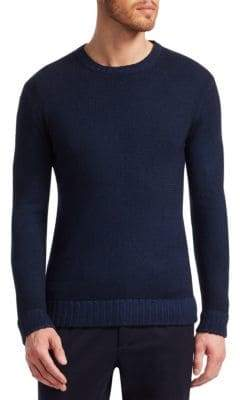 Loro Piana Wool Knit Crewneck Sweater