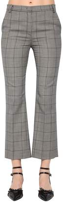 RED Valentino Wool Prince Of Wales Pants