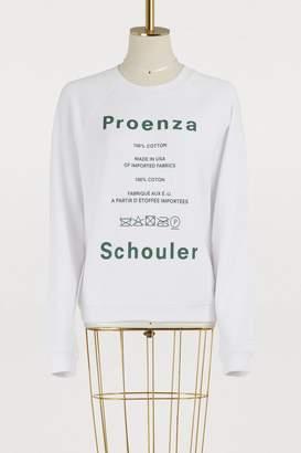 Proenza Schouler Printed sweatshirt