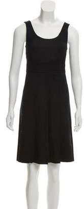 Theory Pleated A-Line Dress