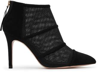 Reiss Devon Mesh-Panel Boots