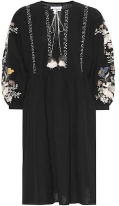 Velvet Bettina cotton and linen dress
