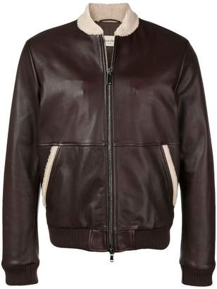 Al Duca D'Aosta 1902 short biker jacket