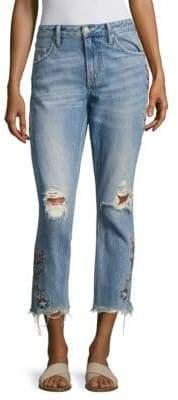 Tularosa Hailey Straight Distressed Jeans