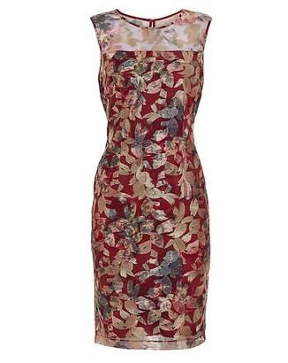 Gina Bacconi Mirta Embroidered Dress