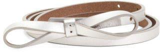 Women's Skinny High Waist Leather Belt