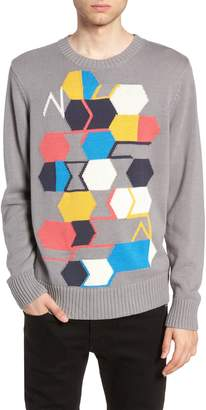 The Rail Geo Pattern Sweater