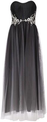 Marchesa strapless tulle dress