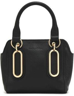 See by Chloe Paige Mini Textured-Leather Shoulder Bag