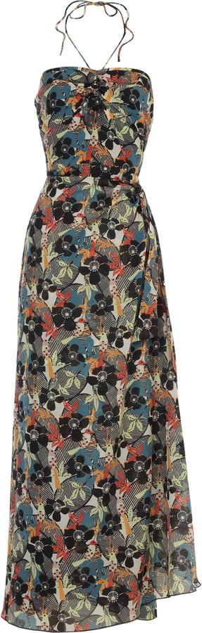 Anna Sui Birds of Paradise maxi dress