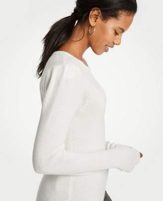 Ann Taylor Puff Shoulder Sweater