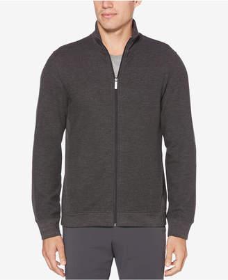 Perry Ellis Men Regular-Fit Full-Zip Sweater