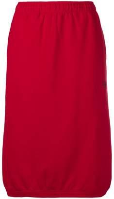 Stussy elastic waist midi skirt