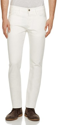 3x1 M5 Slim Fit Jeans in Off White $225 thestylecure.com