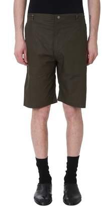 MHI Stencil Dragon Green Cotton Shorts