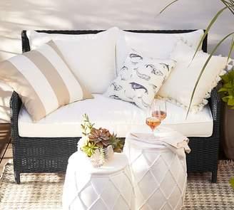 Pottery Barn Patio Square Arm Sofa Cushion Slipcovers