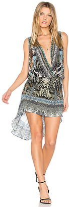 Camilla Cross Over Dress in Black $450 thestylecure.com