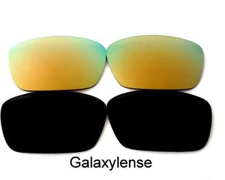 df4656c188 Oakley Galaxylense Galaxy Replacement Lenses for Fuel Cell Black Gold  Polarized 2 Pairs